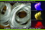 Fibra optica 0.75mm legatura de100 fire/5m