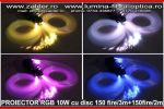 Kit 10W RGB cu disc si 150fire/3m+150fire/2m